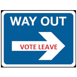 Way out leave